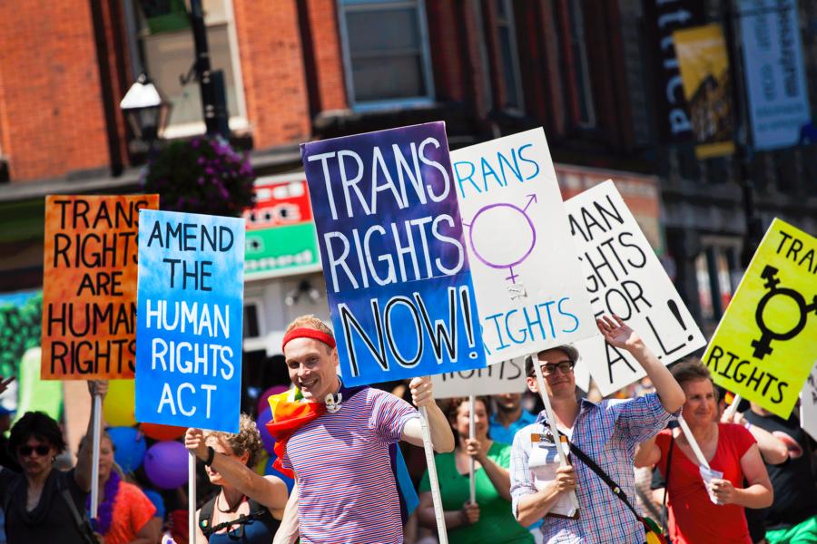 Bill C-16: Affirming transgender and gender-diverse rights