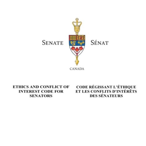 New Senate Code of Ethics