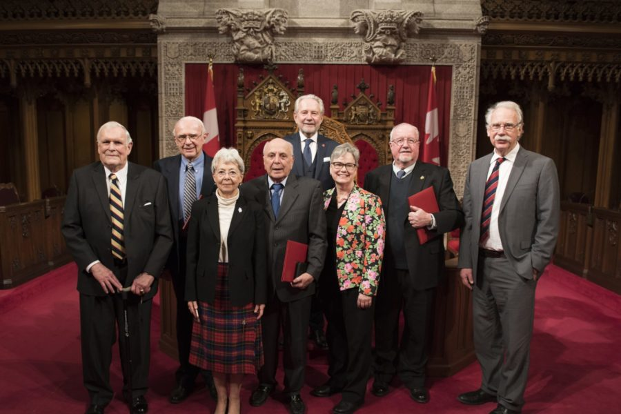 Senator Harder awards Canadians for work with immigrants and refugees